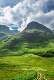 Green highlands Scotland Stock Image
