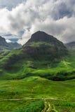 Green highlands in summer Stock Photos