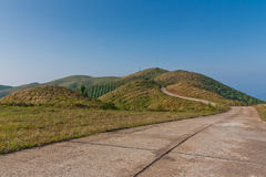 The Green Hill. Royalty Free Stock Image