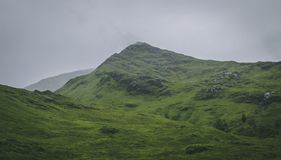Green Hill in Scottish Highlands stock photos