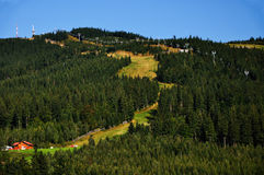 Green Hills Stock Photo