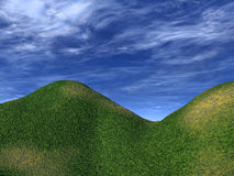 Green Hills 7 Royalty Free Stock Photography