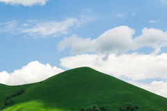The green Hills Stock Image
