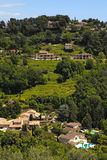 Green hills in Saint-Paul-de-Vence , Provence, South France. Stock Photo