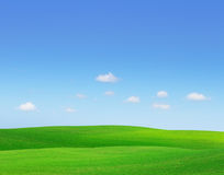 Green hills. Stock Photography