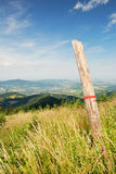 Green Hills and Valley Stock Photography