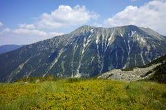 Green hils of Todorka peak, Pirin Mountain Stock Image