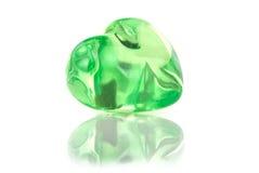 green hjärta Royaltyfria Foton