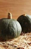 Green Hokkaido pumpkin Royalty Free Stock Image