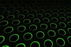 Green Hole Pattern Stock Image