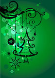 Green holiday background Stock Image