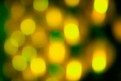Green holiday bokeh. Abstract background Royalty Free Stock Image