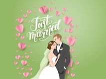Green holiday wedding Royalty Free Stock Photo