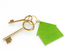Green home Royalty Free Stock Photography