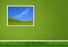 Green home royalty free stock photos