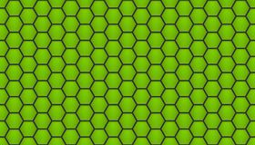 Green honeycomb background Stock Photography