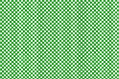 Green horizontal Gingham pattern. Texture from rhombus/squares for - plaid, tablecloths, clothes, shirts, dresses, paper, bedding. Blankets, quilts and other vector illustration