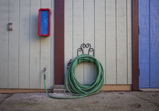 Green hose Stock Photography