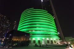 Green Hospital in Abu Dhabi Royalty Free Stock Photos