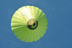 Green Hot Air Balloon Stock Photography