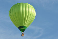 Green Hot Air Balloon Stock Images