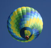 Green Hot air Balloon Stock Photos