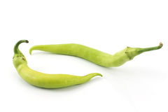 Green hot pepper Stock Photography