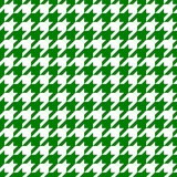 Green hounds tooth Stock Photos
