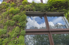 `Green House` on the Branly Embankment in Paris. Stock Image