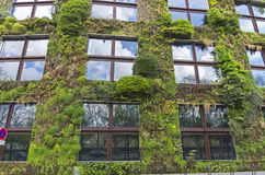 `Green House` on the Branly Embankment in Paris. Royalty Free Stock Photography