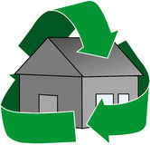 Green House Icon Royalty Free Stock Photo