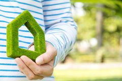 Green house icon concept Royalty Free Stock Photo