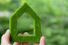 Green house icon concept Royalty Free Stock Image