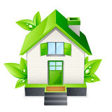 Green house illustration Royalty Free Stock Images
