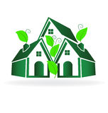 Green House logo Stock Images