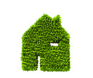 Green house nature symbol Royalty Free Stock Photography