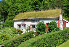 Green House of Norway Stock Photo