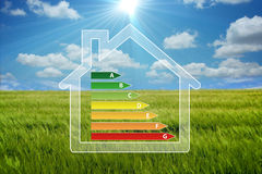 Green house. Sweet eco  background, enhance your work Royalty Free Stock Images