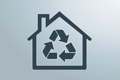 Green house. Sweet eco  background, enhance your work Royalty Free Stock Image