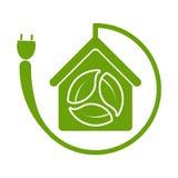 Green house symbol,ecology icon on white background.vector illustration. Green house symbol,ecology icon on white background vector illustration