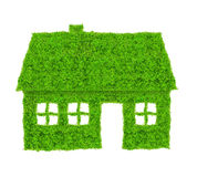 Green house symbol Royalty Free Stock Images