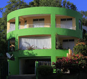 Green house in Tartane, Martinique Royalty Free Stock Images