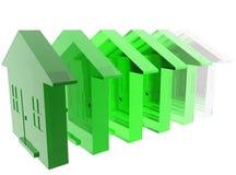 Green Housing Royalty Free Stock Image