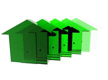 Green Housing Stock Photo