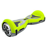 Green hover Board Royalty Free Stock Images
