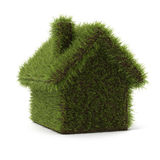 Green hrass house Stock Images