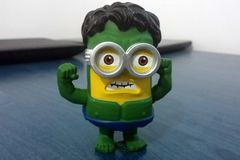 Green Hulk Minion Stock Photos