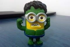 Green Hulk Minion Stock Photos