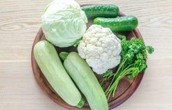 Green hypoallergenic vegetables Stock Photo