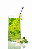 Green ice tea Royalty Free Stock Image